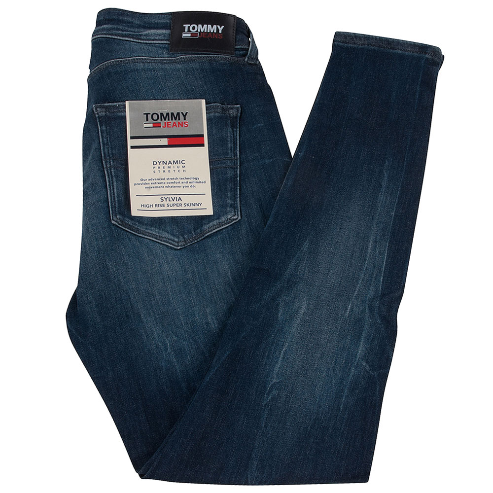 Sylvia Super Skinng Womens Jean in Blue