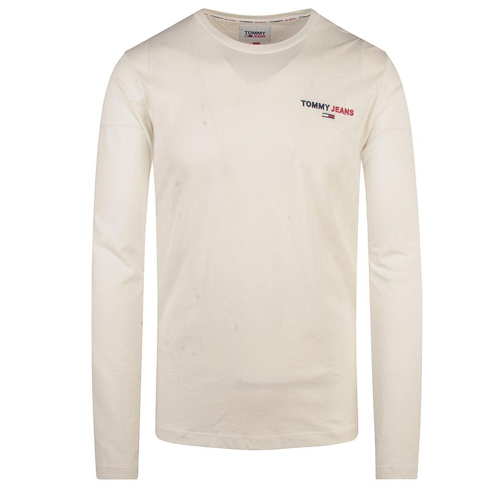 TJM Long Sleeve T-Shirt in White