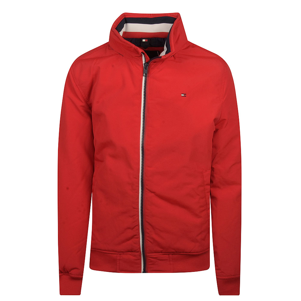 Essential Kids Bomber Jacket in Red