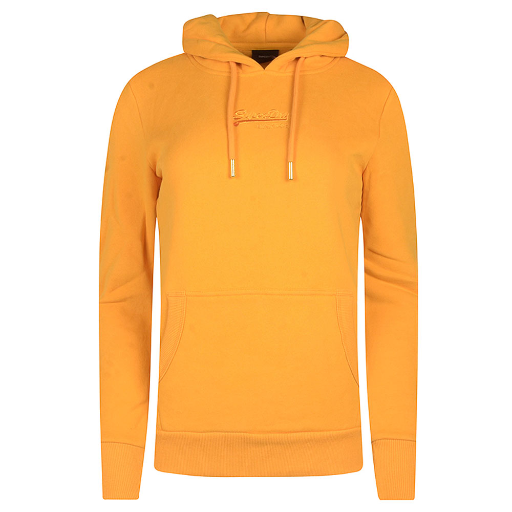 Tonal Hooded Jumper in Yellow