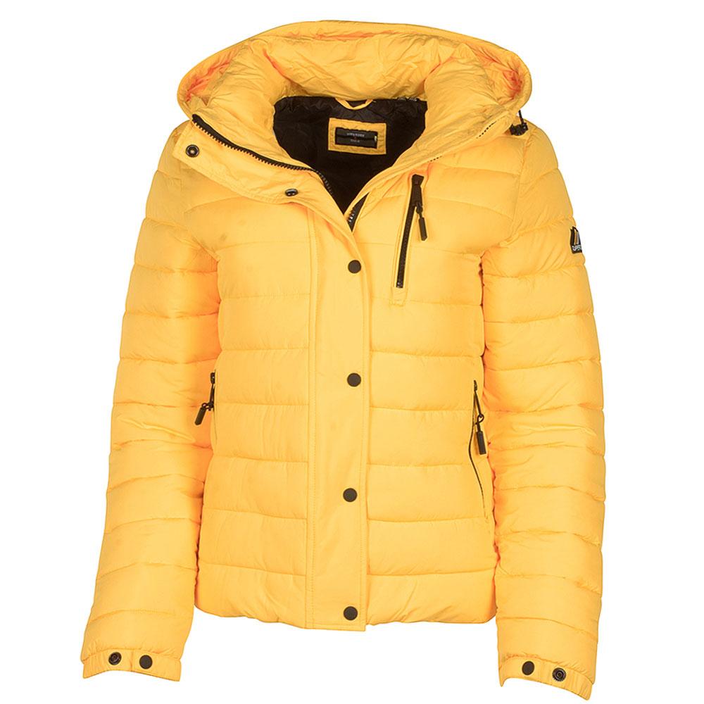 Classic Fuji Padded Jacket in Yellow