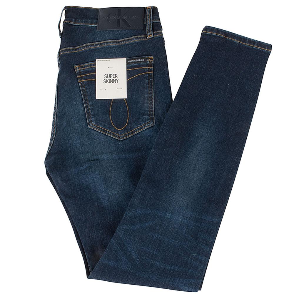 CK Super Skinny Jeans in Blue