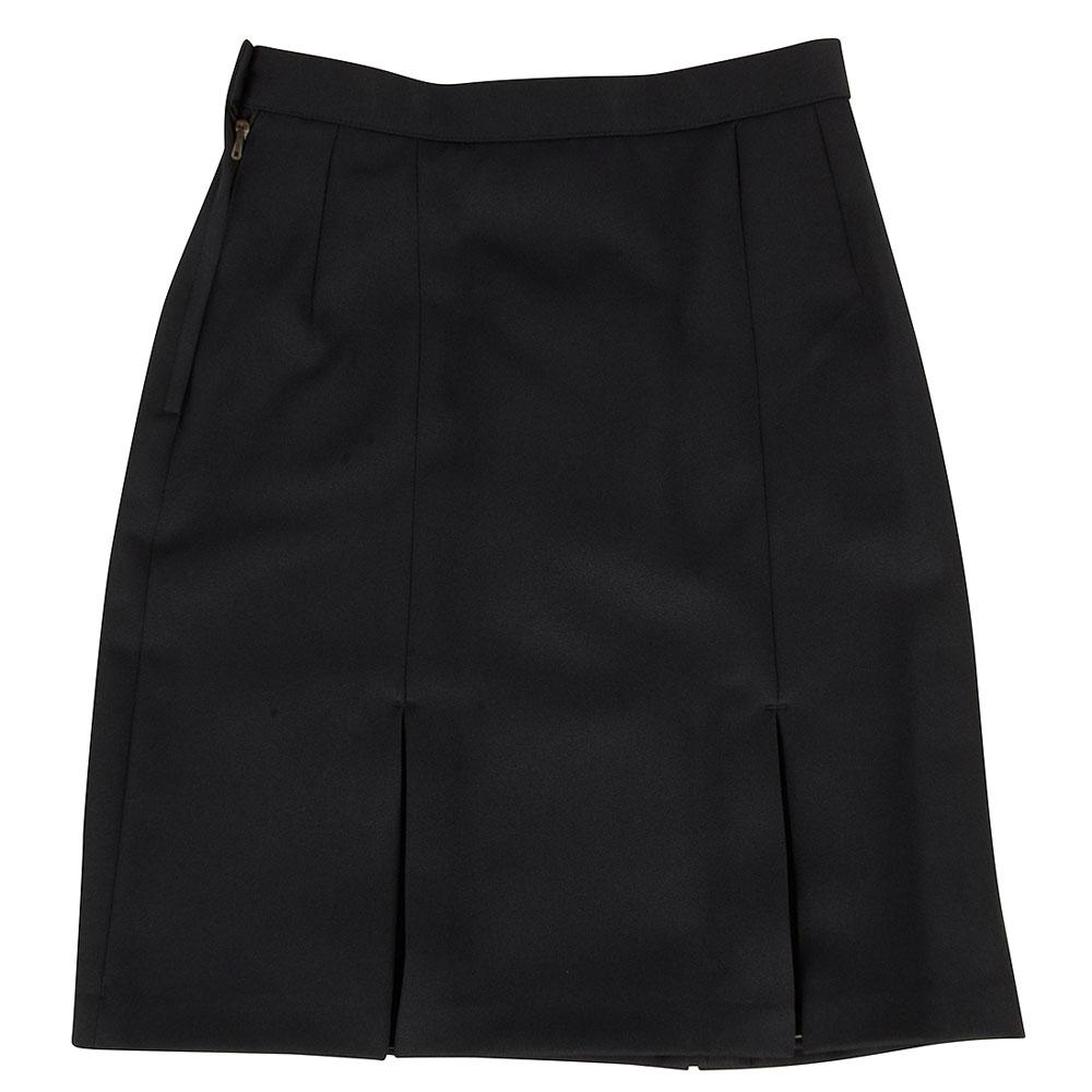 St Genevieves Plain Skirt in Navy