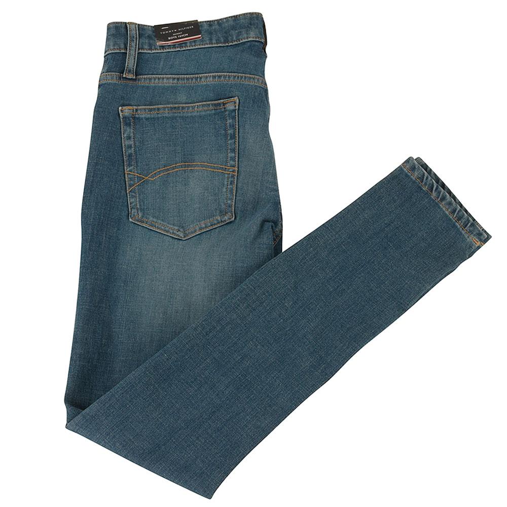 Simon Super Skinny Kids Jeans in Indigo