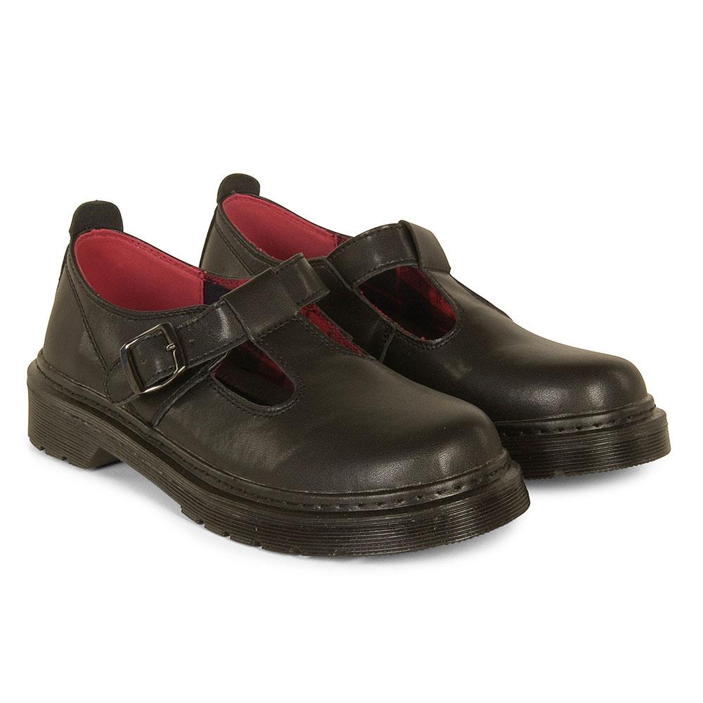 Gaia School Shoe in Black