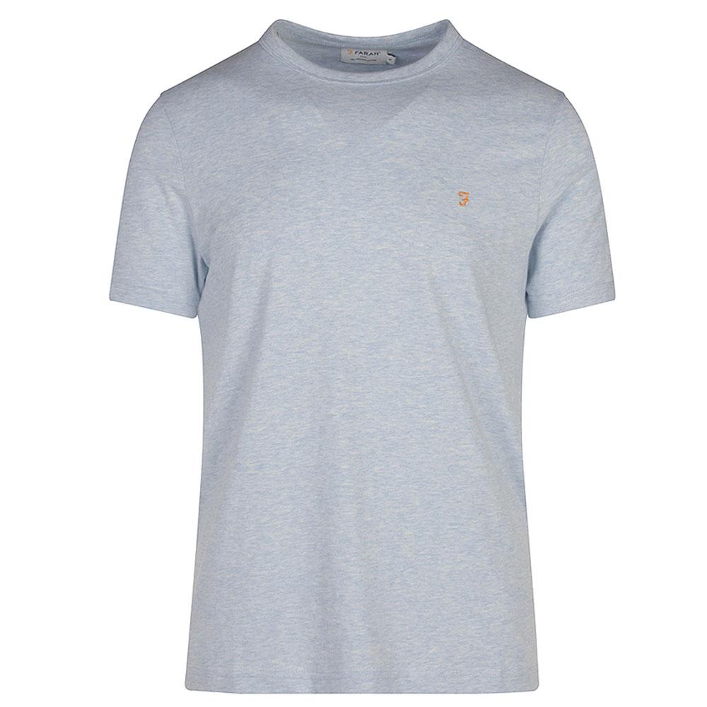 Danny SS T-Shirt in Lt Blue