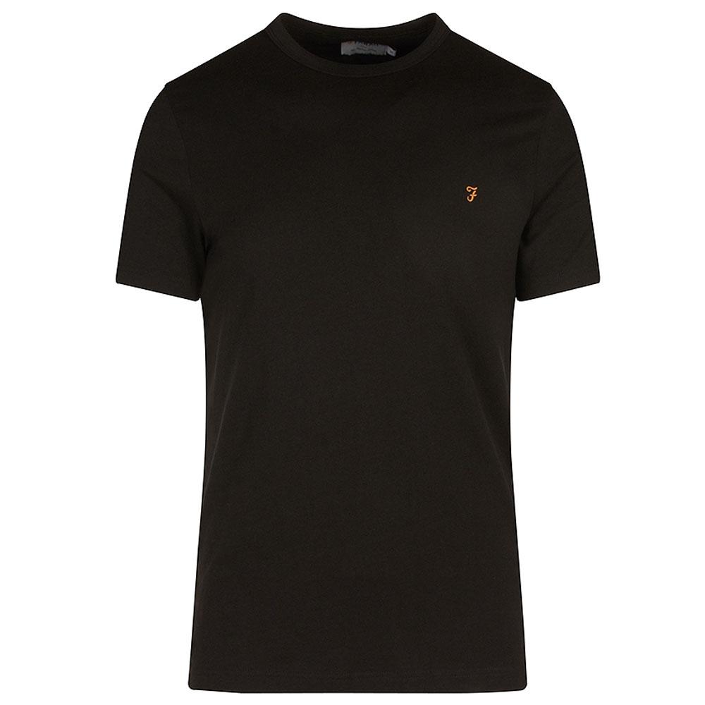 Danny SS T-Shirt in Black