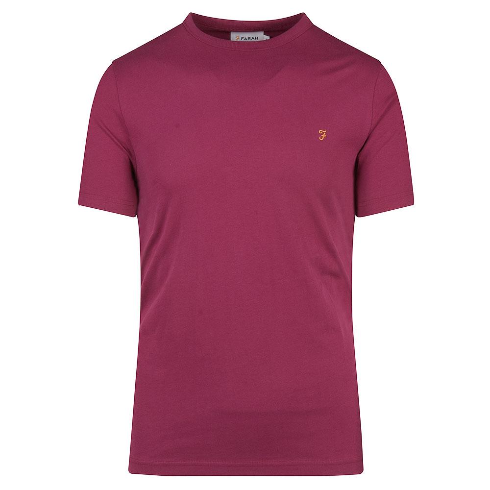 Danny SS T-Shirt in Raspberry