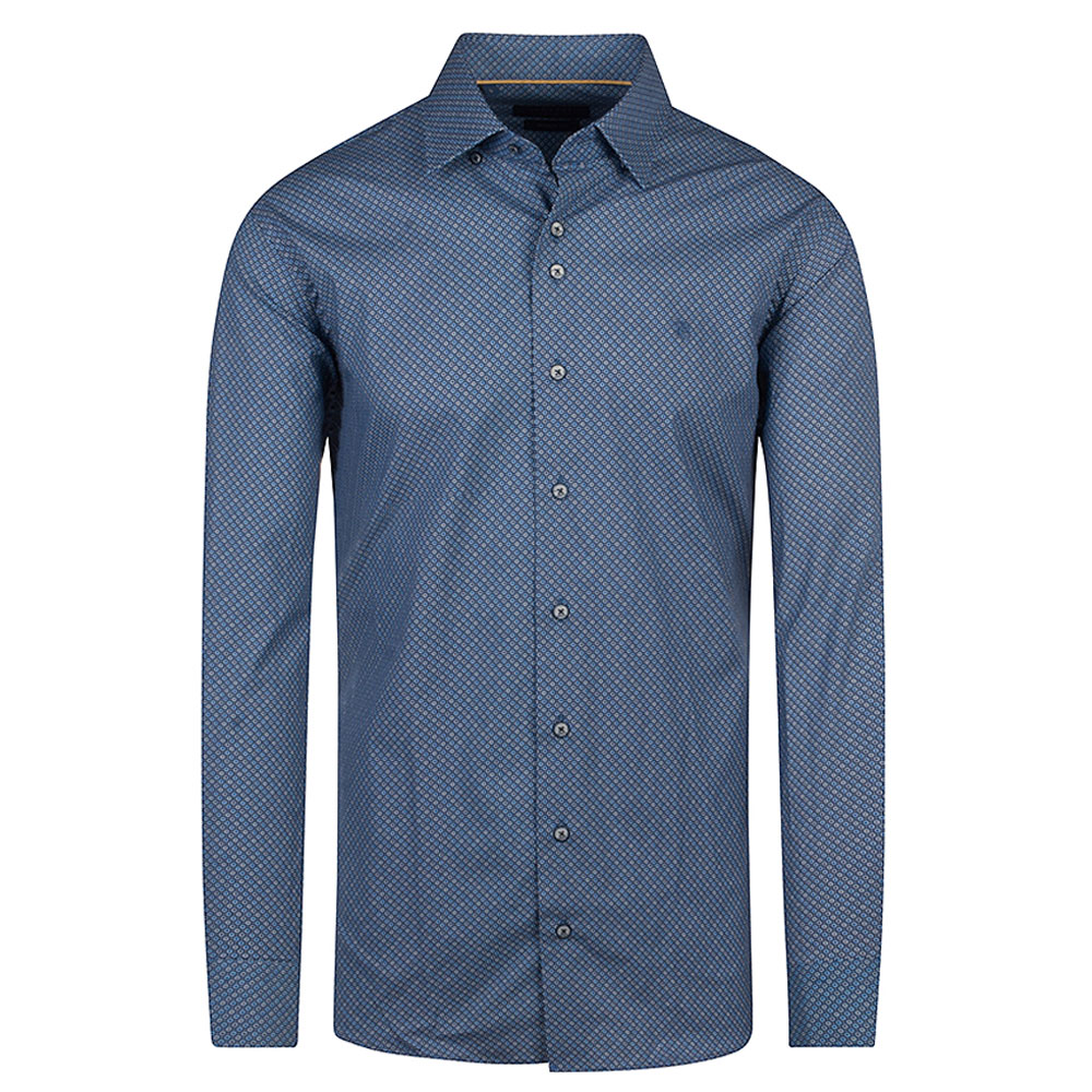 Miles Casual Shirt in Navy