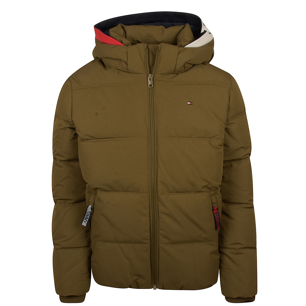 Essential Padded Jacket in Green
