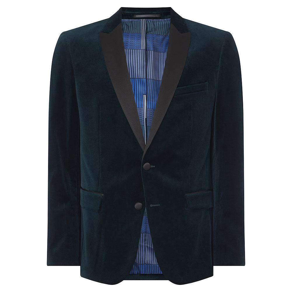 Minti-V Jacket in Dk Green