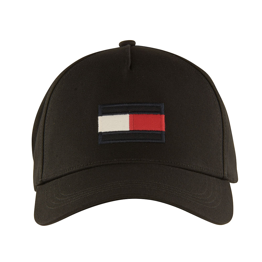 Big Flag Baseball Cap in Black