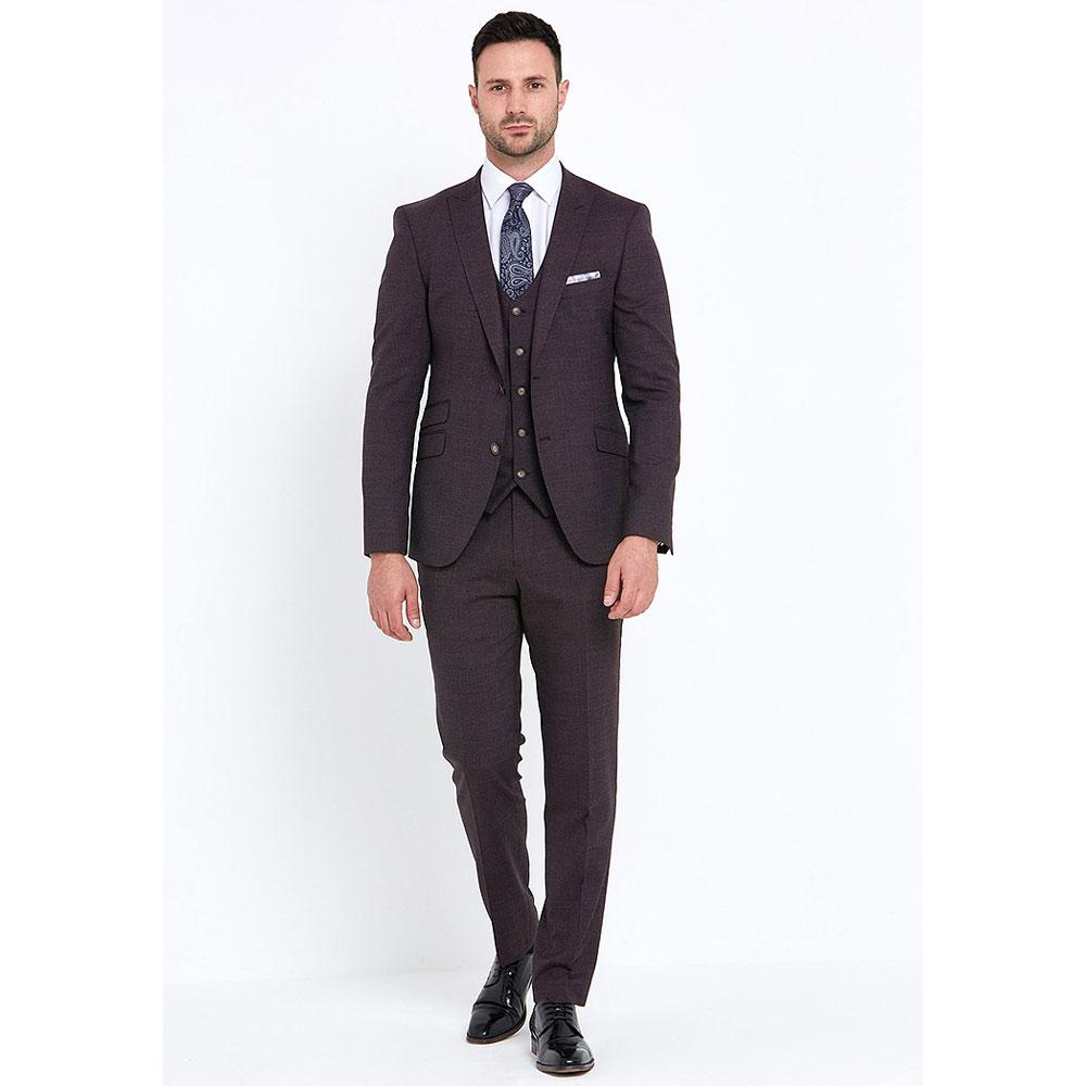 Jacob 3 Piece Suit in Brown