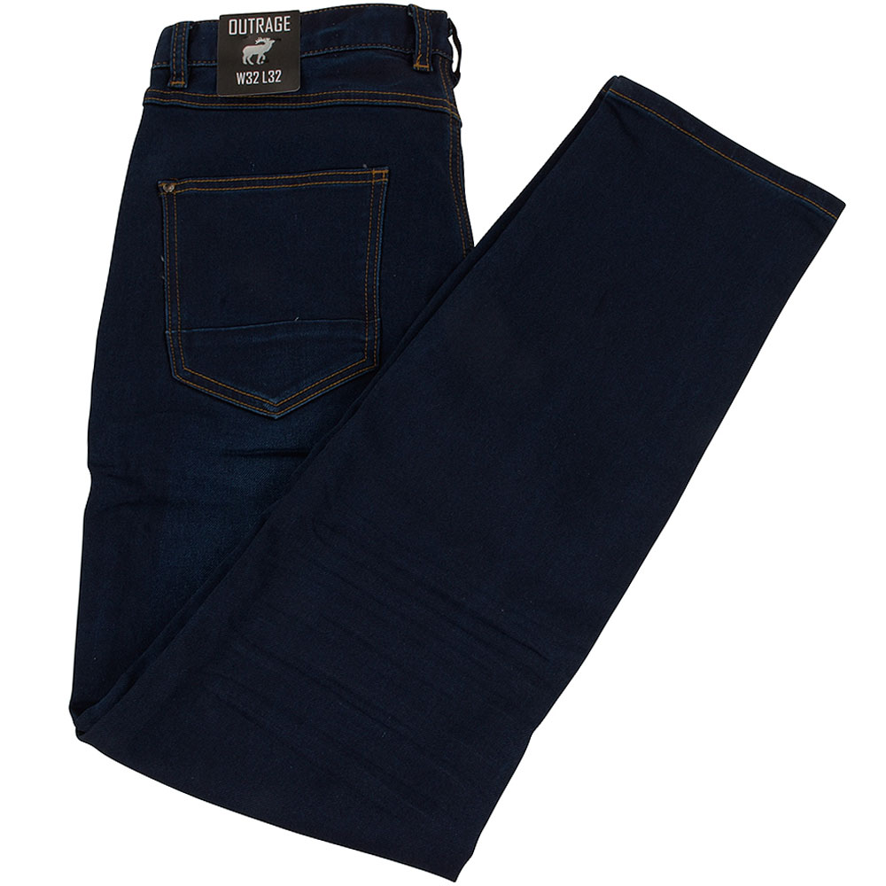 Abbot Slim Jean in Blue