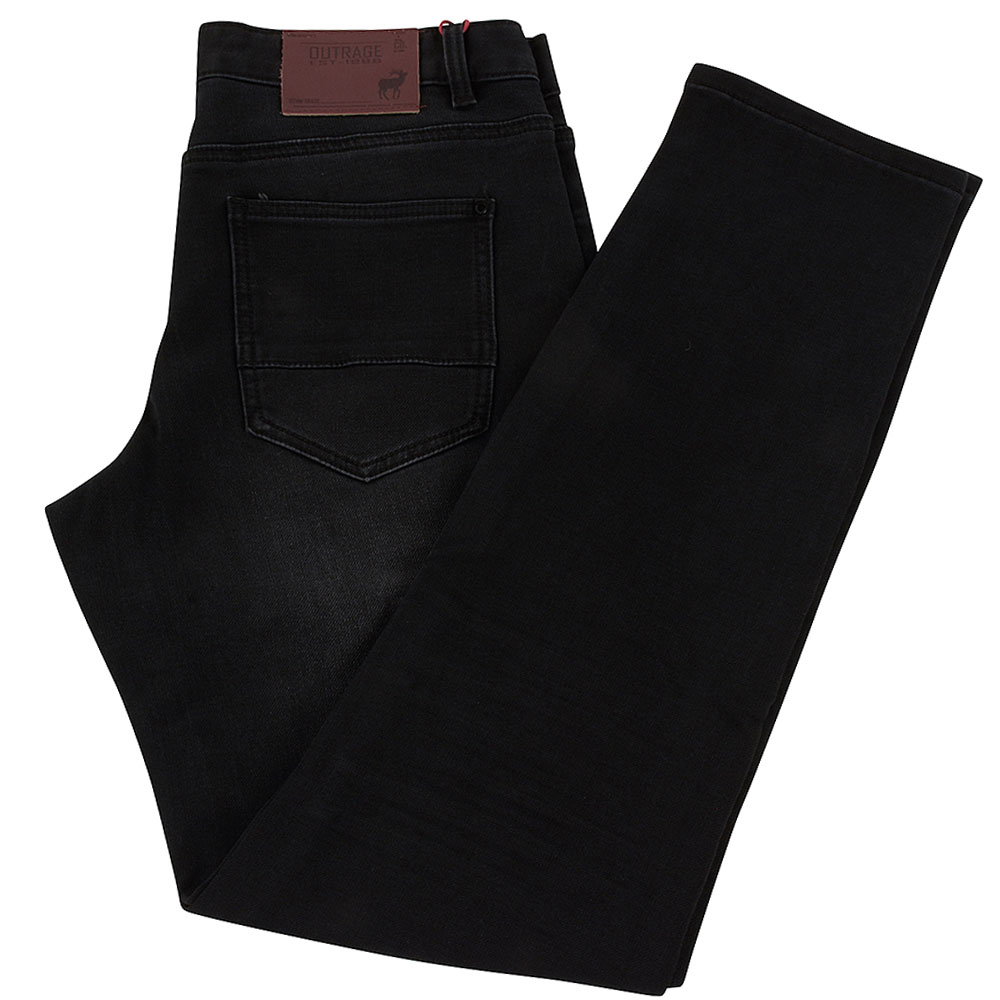 Roan Slim Jean in Black