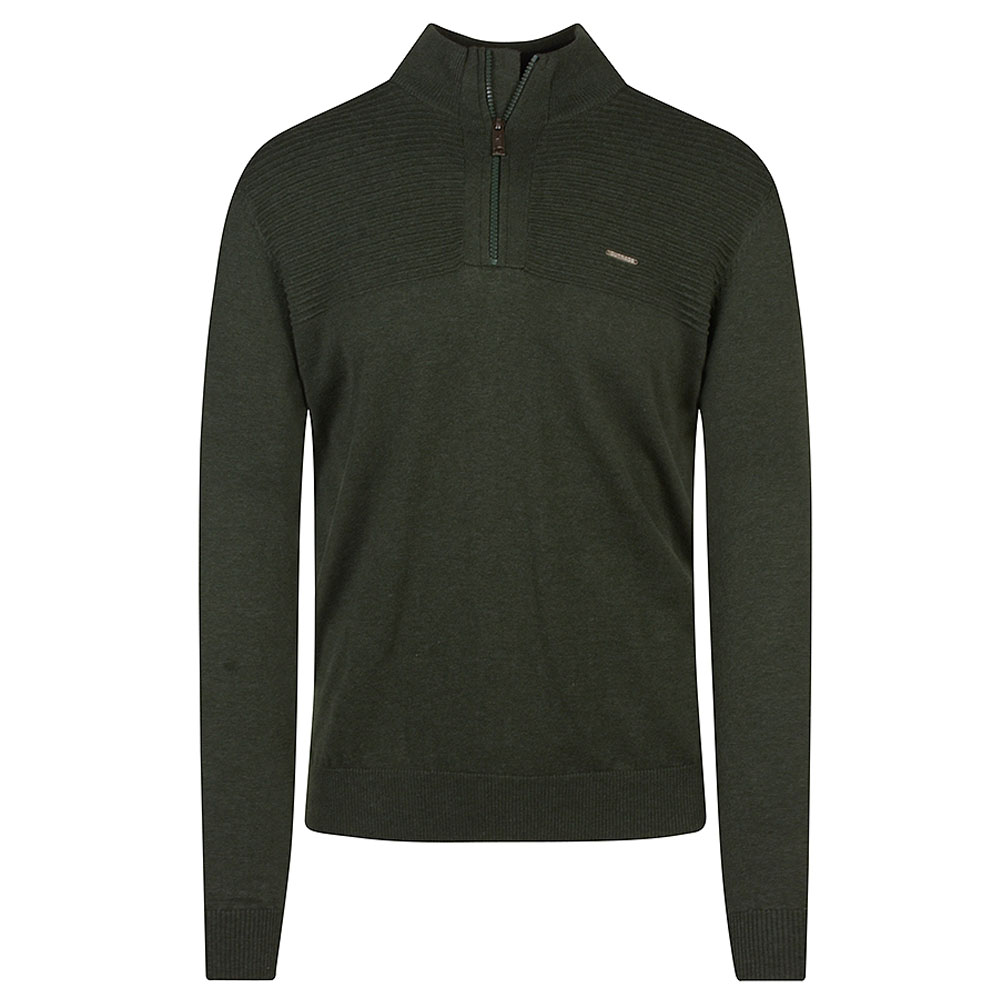 Jared Halfzip in Green