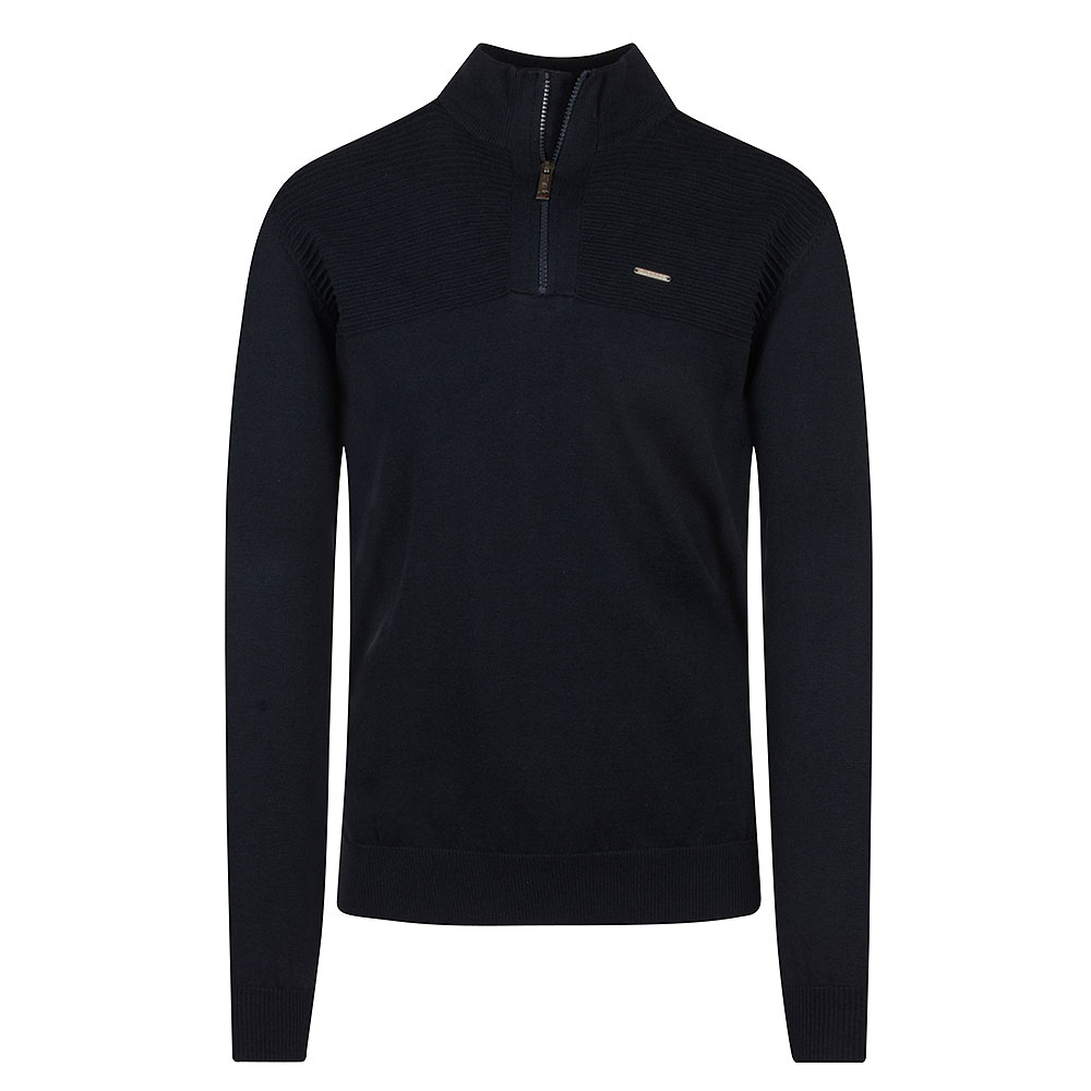 Jared Halfzip in Navy
