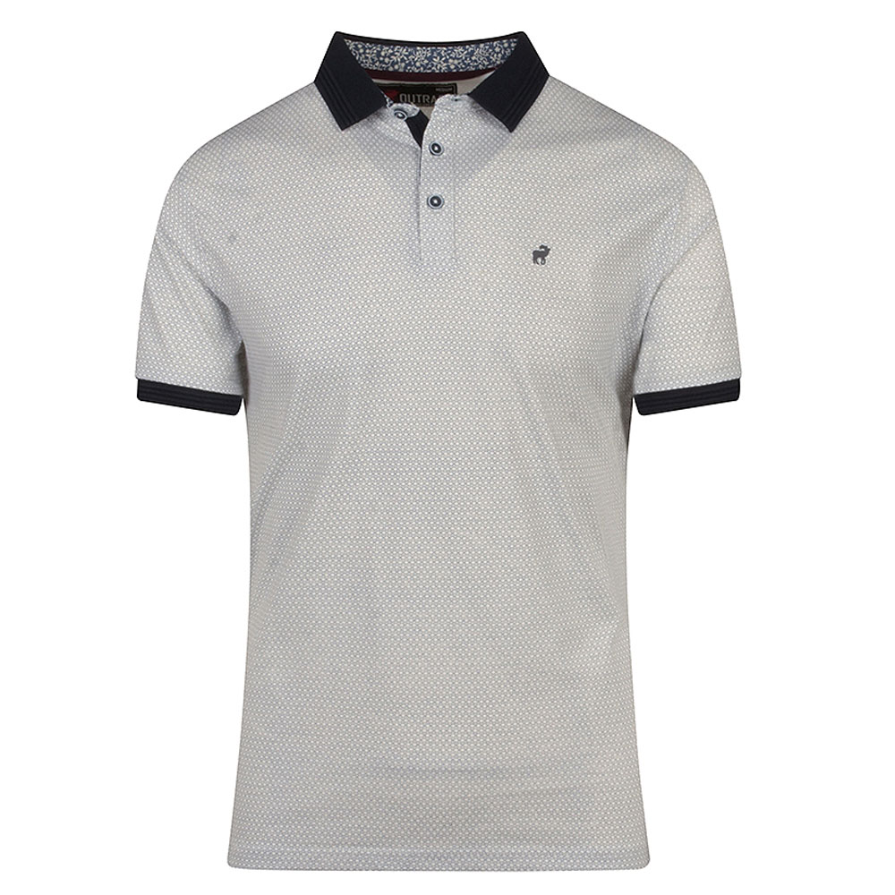 Roman Polo Shirt in White