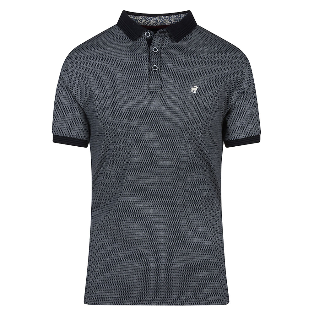 Roman Polo Shirt in Navy
