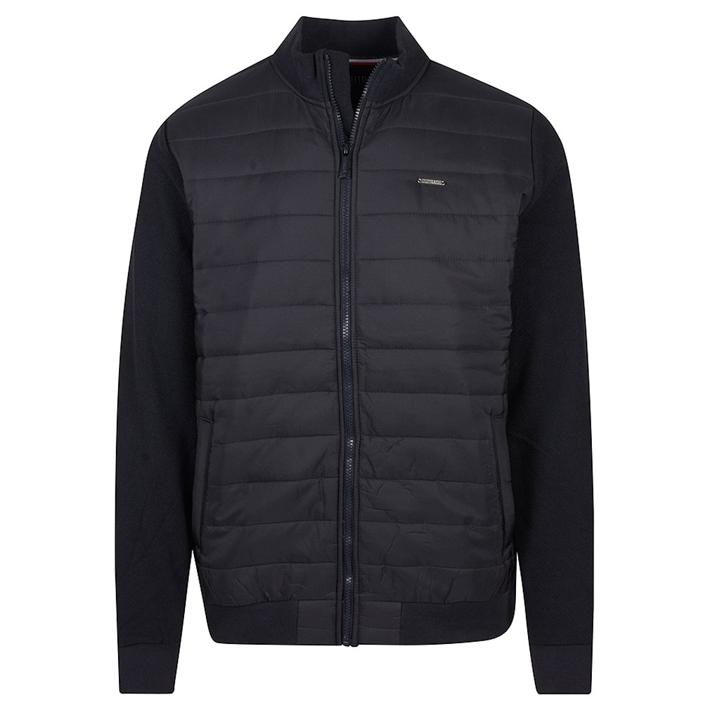 Gavin Zip Jacket in Navy