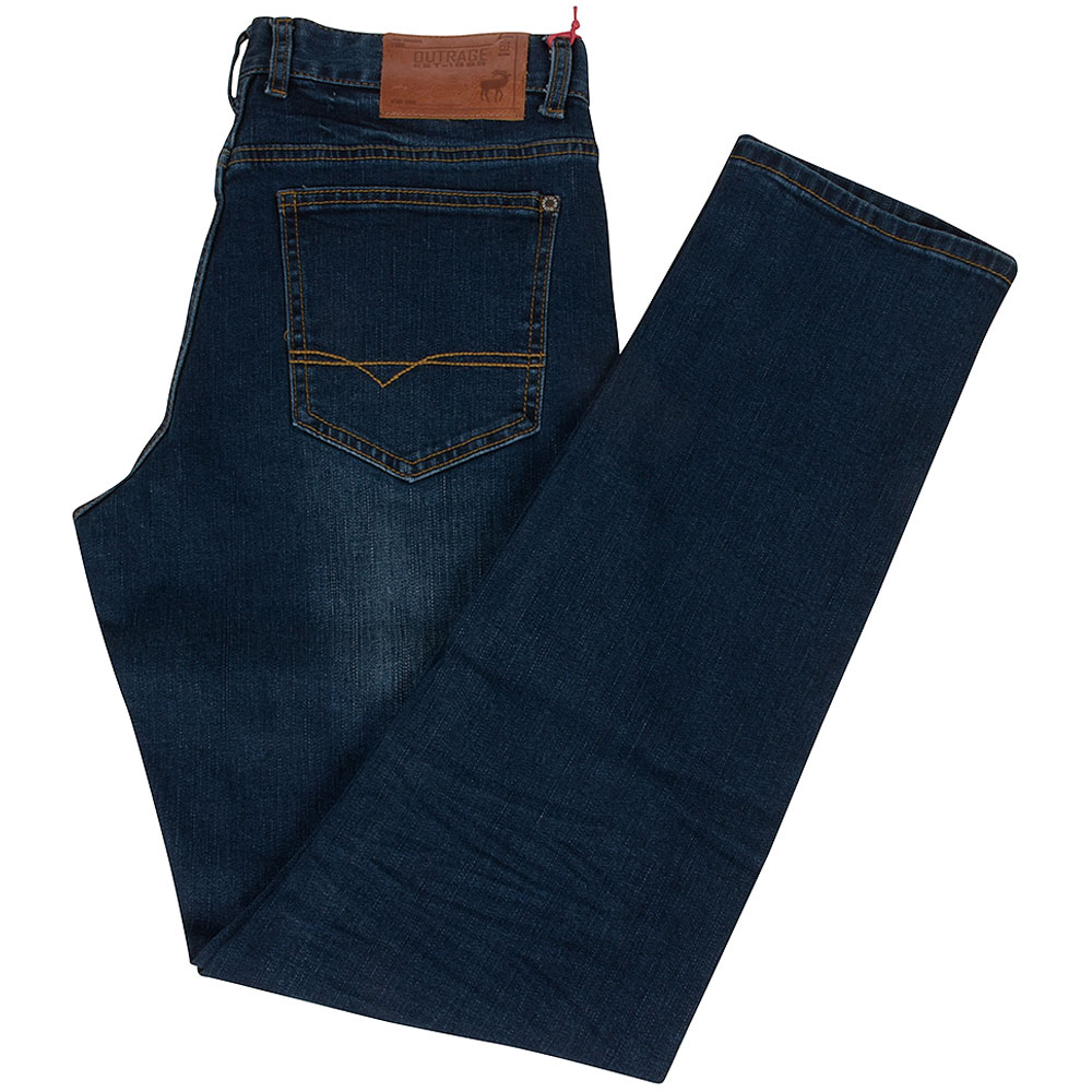Archer Slim Fitting Jean in Stonewash
