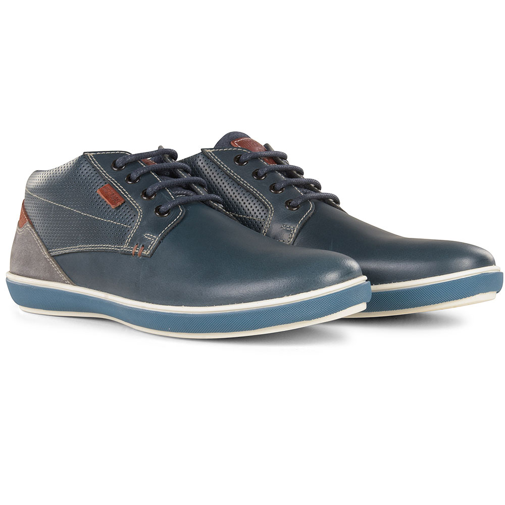 Cain Boot in Navy