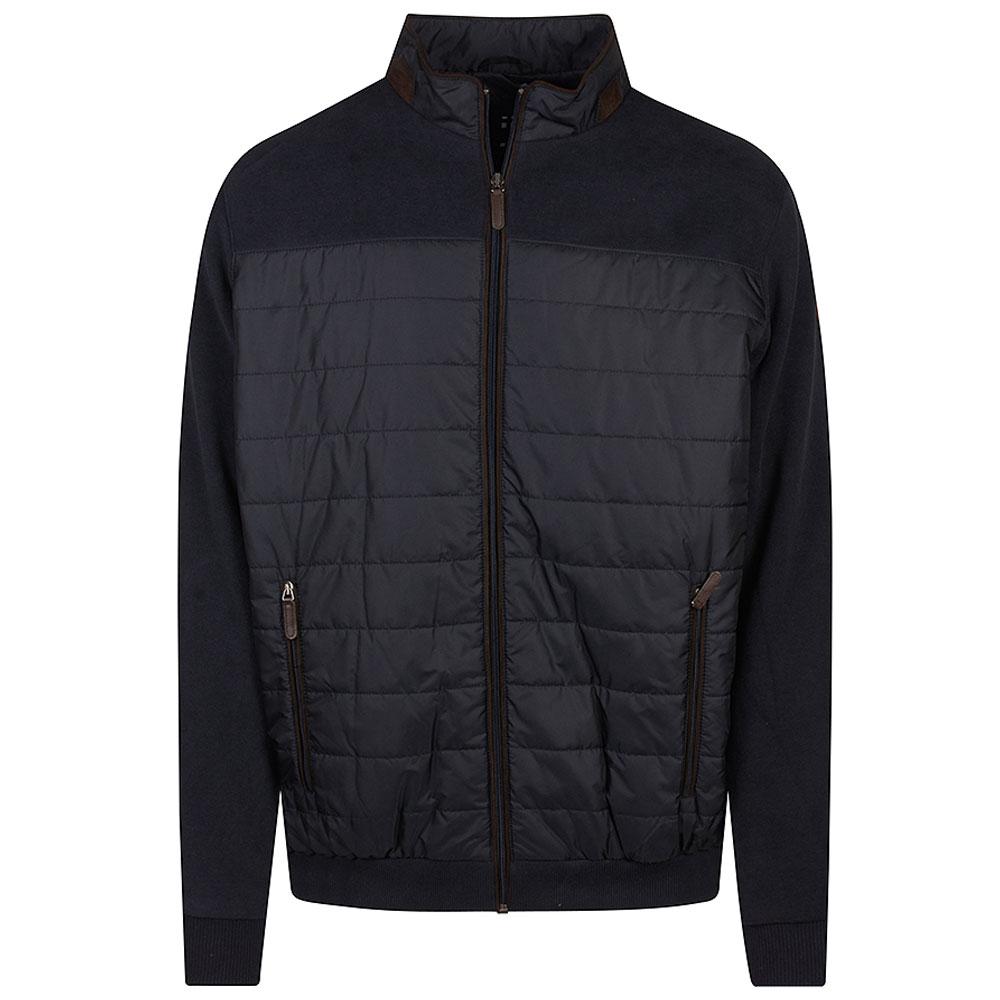 Casual Zip Jacket in Navy