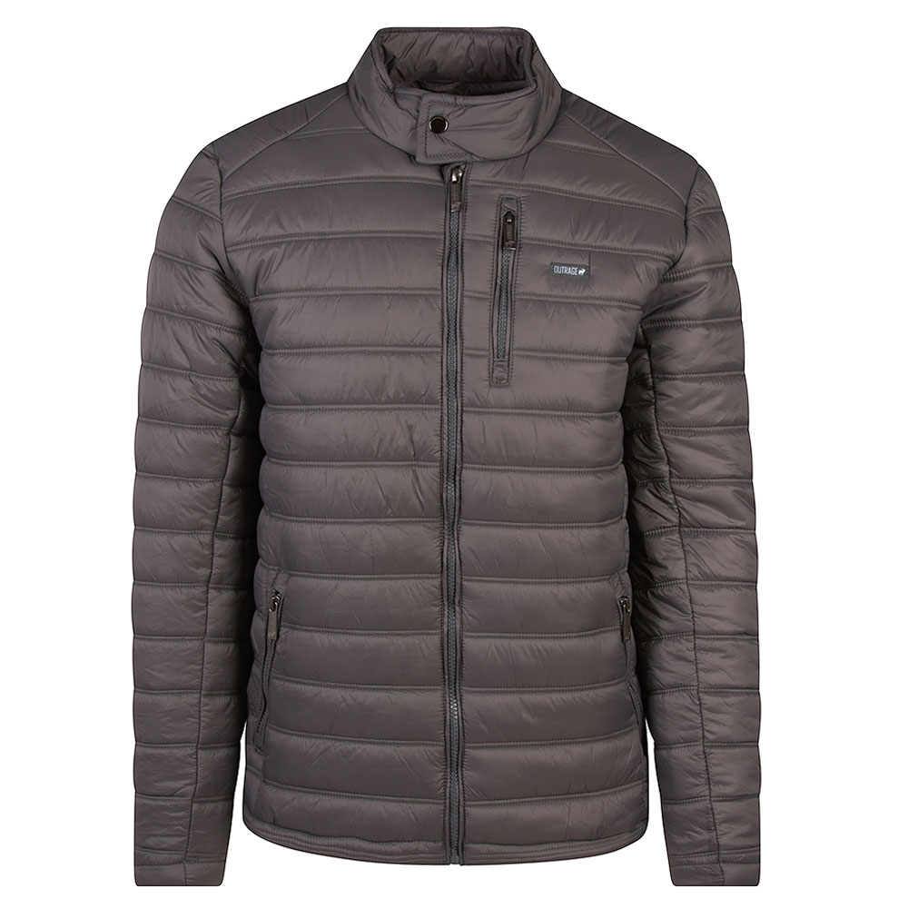 Aston Puffa Jacket in Grey