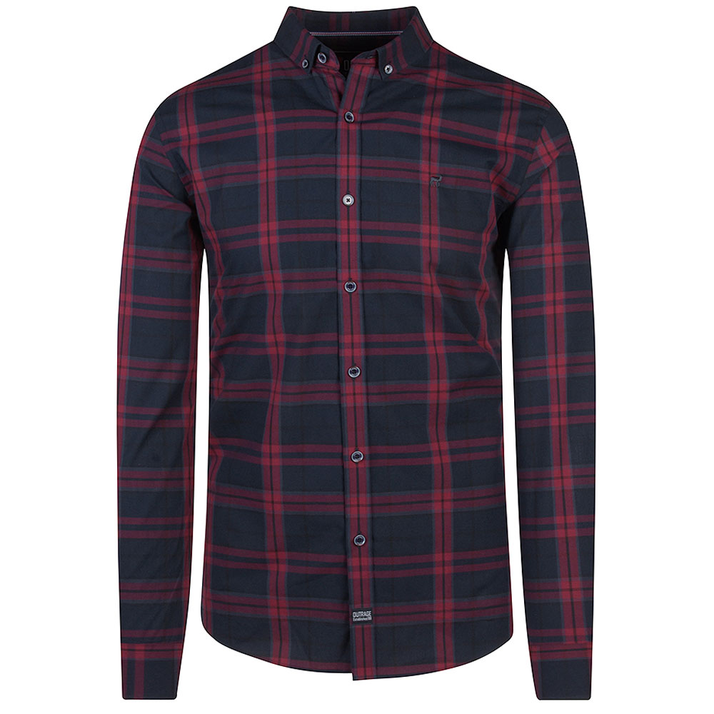 Toby Shirt in Burgundy