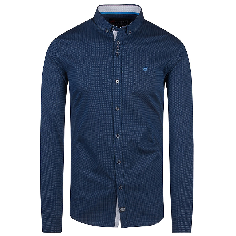 Finn Shirt in Navy