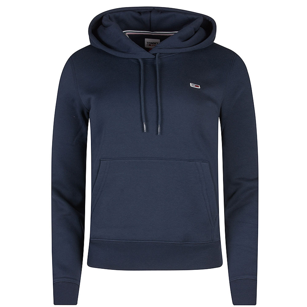 Fleece Hoodie in Navy