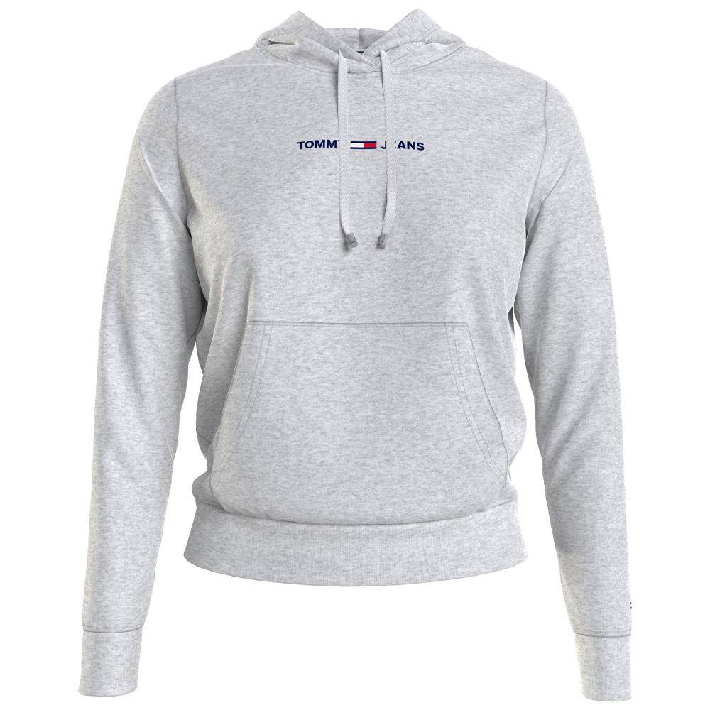 Linear Logo Hood in Grey