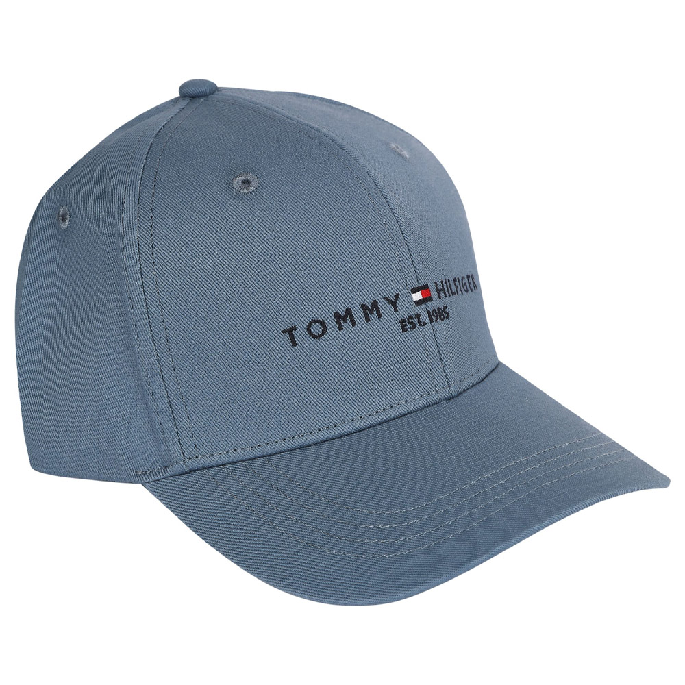 Established Baseball Cap in Indigo