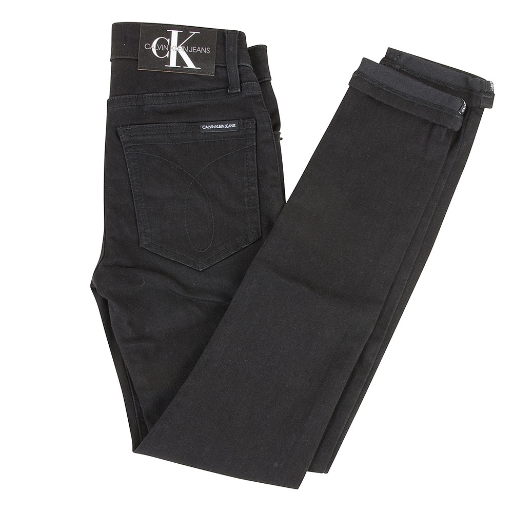 Kids Skinny Jeans in Black