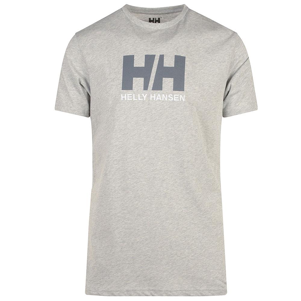 HH Logo Tee in Grey