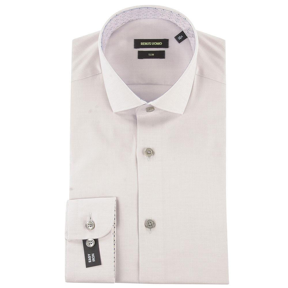 Slim Kirk Dress Shirt in Grey