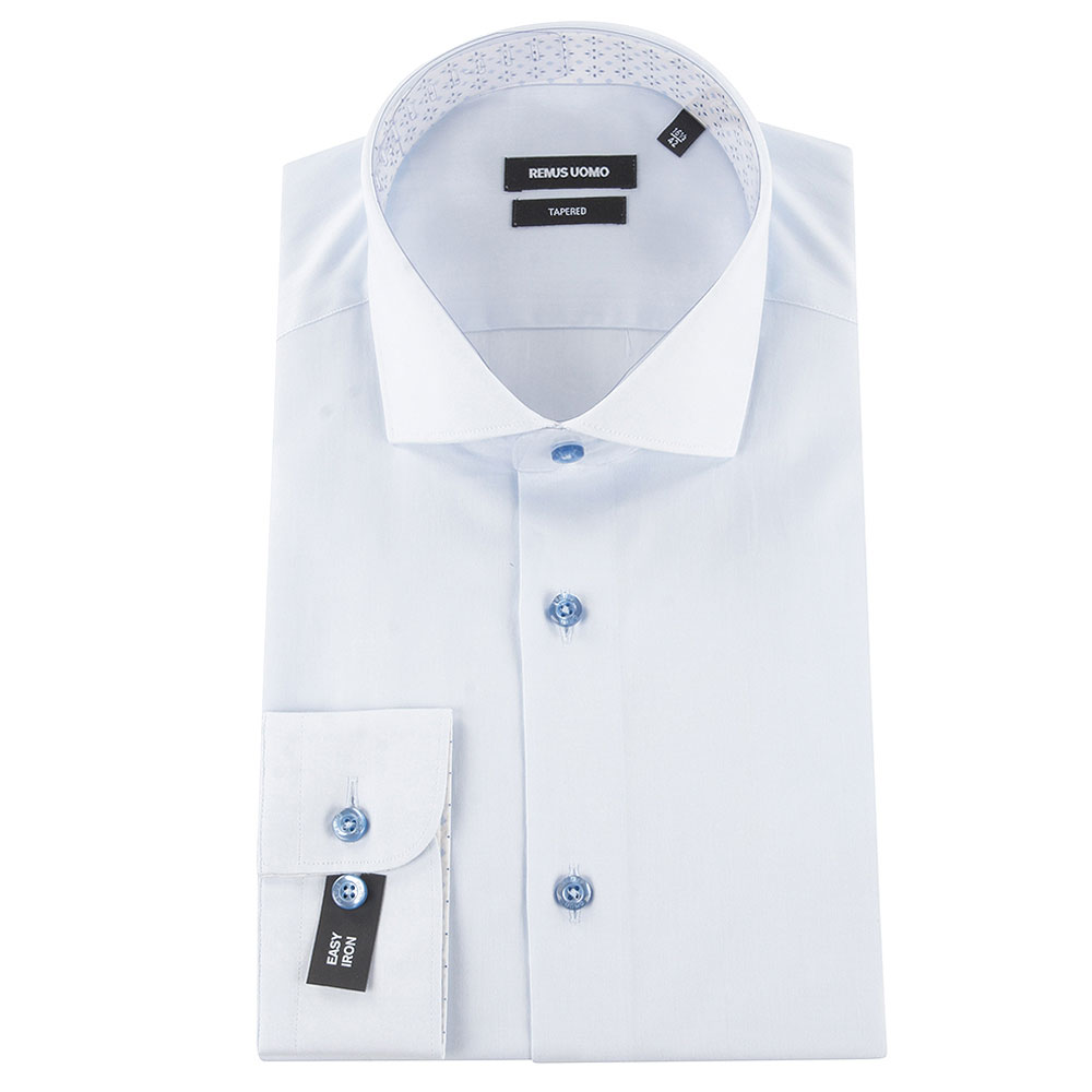 Seville Frank Dress Shirt in Blue