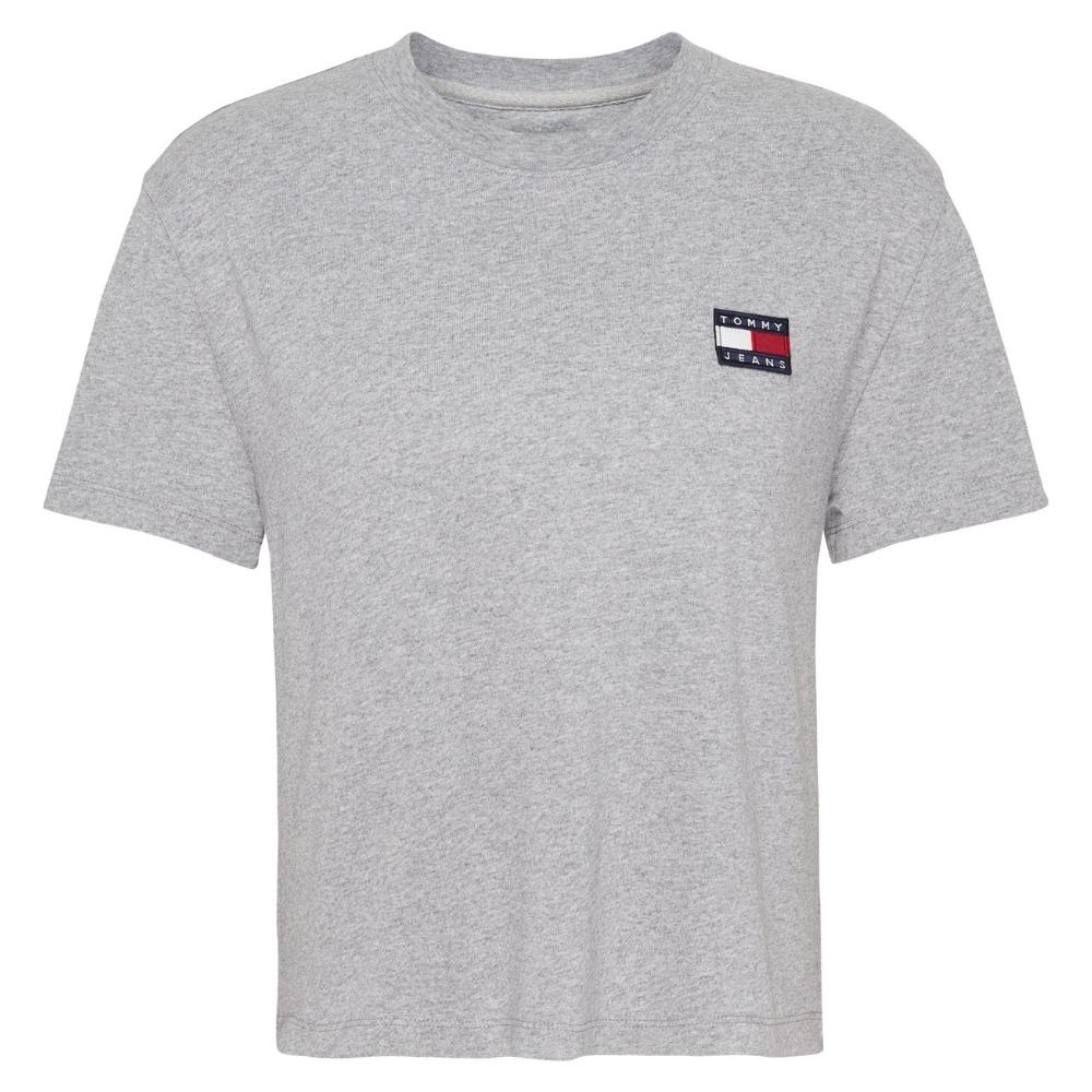 TJW Badge T-Shirt in Lt Grey